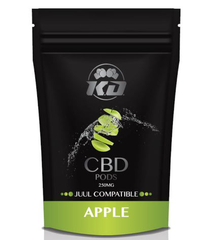 Knock Out | Compatible Apple CBD Pod 250MG CBD Pod Knock Out