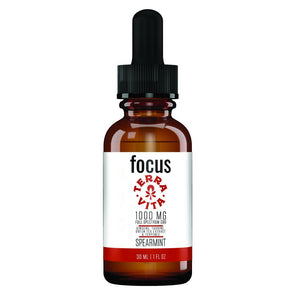 TERRAVITA | Focus CBD Terpenes Oil 1000MG 30ML CBD Terpenes Oil TERRAVITA