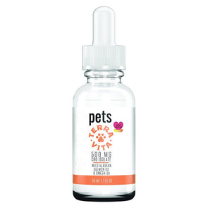 TERRAVITA | Pets Tincture Oil 500MG 30ML CBD For Pets TERRAVITA
