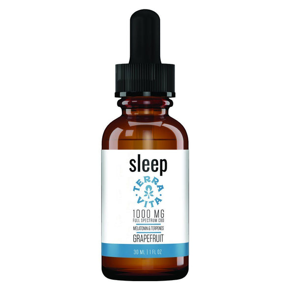 TERRAVITA | Sleep CBD Terpenes Oil 1000MG 30ML CBD Terpenes Oil TERRAVITA