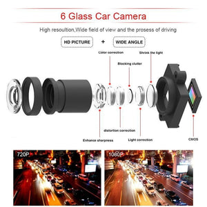 Smart Cam®- Dual Camera DVR Mirror