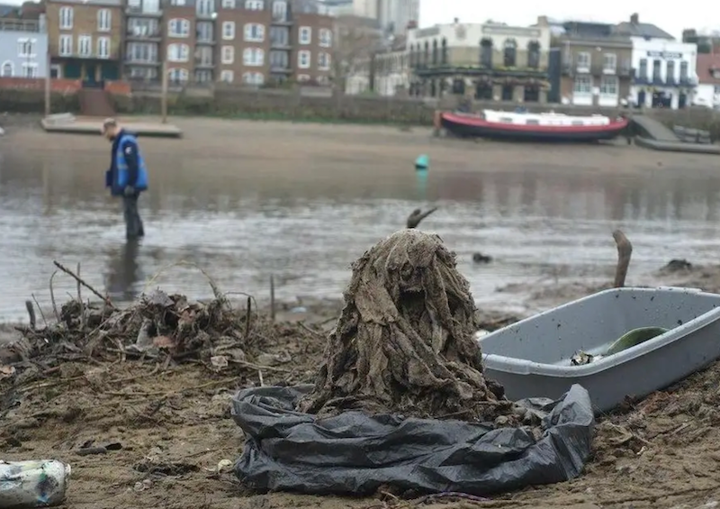 Your single-use makeup wipes contain plastic and are changing the shape of the riverbeds