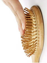 Load image into Gallery viewer, Bamboo Plastic Free Hairbrush - With Wooden Pins