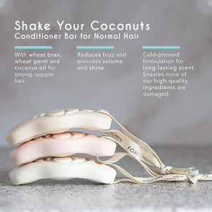 Conditioner Bar on a Rope - Coconut