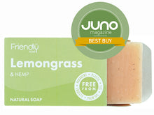 Load image into Gallery viewer, Lemongrass & Hemp Soap