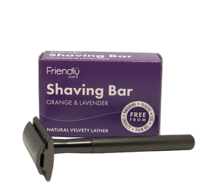 Reusable Safety Razor + Shaving Bar Kit