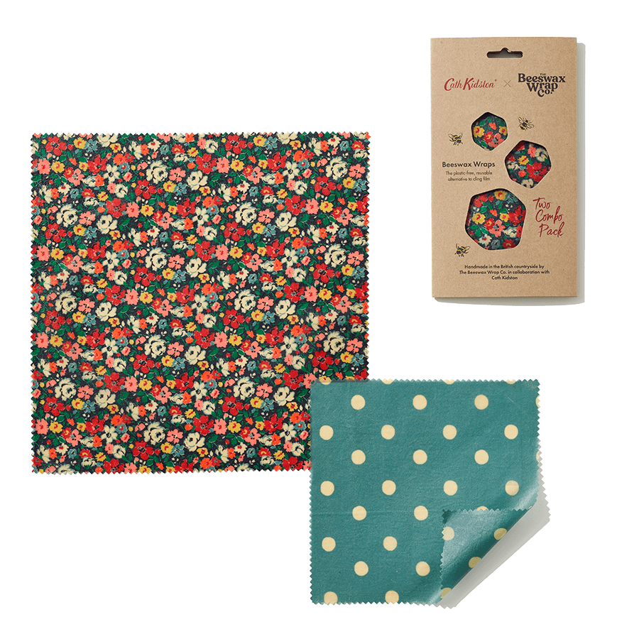 Cath Kidston Beeswax Wraps -Pack of 2