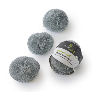Steel Scourers - 3 Pack