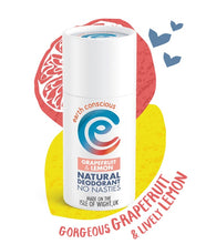 Load image into Gallery viewer, Natural Deodorant Stick - Grapefruit & Lemon