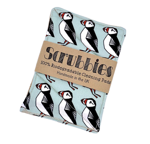 Puffin Biodegradable Cleaning Pads x 2