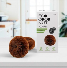 Load image into Gallery viewer, EcoCoconut Scourers - Pack of 2