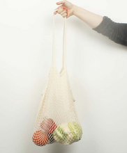 Load image into Gallery viewer, Organic Cotton Long Handled Shopping Bag