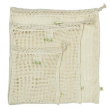 Load image into Gallery viewer, Organic Cotton Mesh Produce Bag Variety Pack - Set of 3