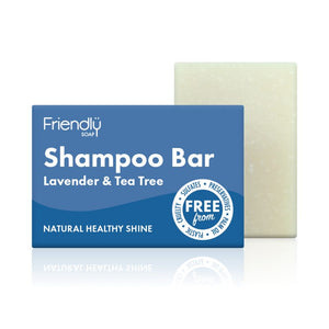 Natural, Plastic Free Hair Care Kit - 2 x Shampoo Bar, 2 x Conditioner Bar
