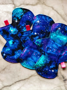 Reusable Sanitary Pad - Galaxy Print