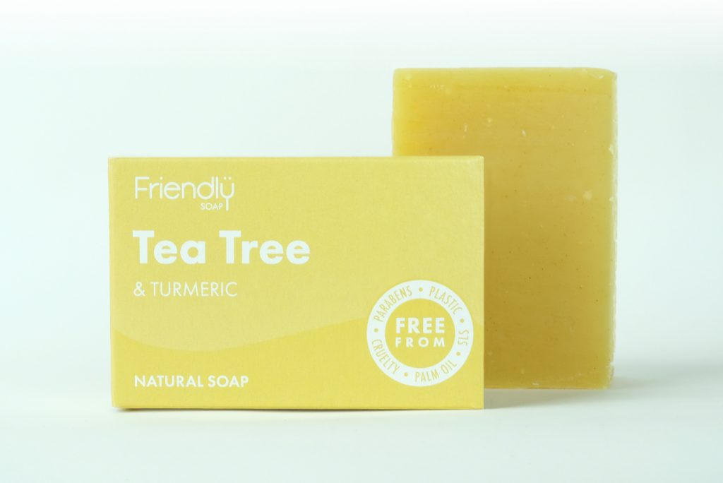 Tea Tree & Turmeric Soap - Helpful for Acne