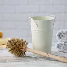 Load image into Gallery viewer, Plastic Free Toilet Brush & Holder Set