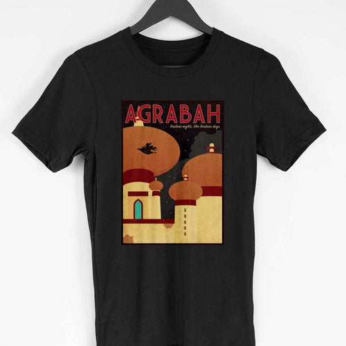 Agrabah Palace View  - Aladdin Inspired Fan Tshirt
