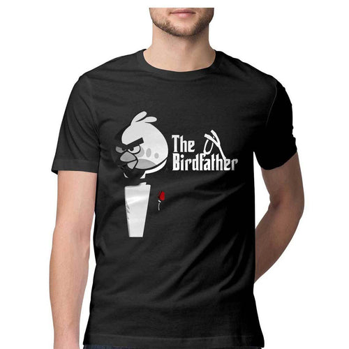 The Birdfather - Quirky Unisex Tshirt