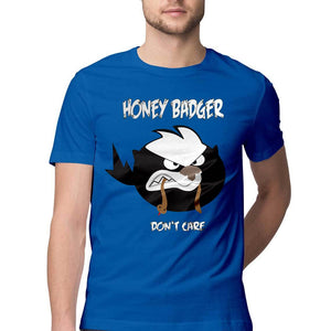 Honey Badger don't Care - Quirky Unisex Tshirt