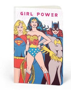 DC Comics: Girl Power - DC Heroes Fan Printed Notebook