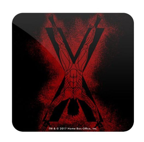 House Bolton Sigil Splatter- Game of Thrones Fan Printed Coaster