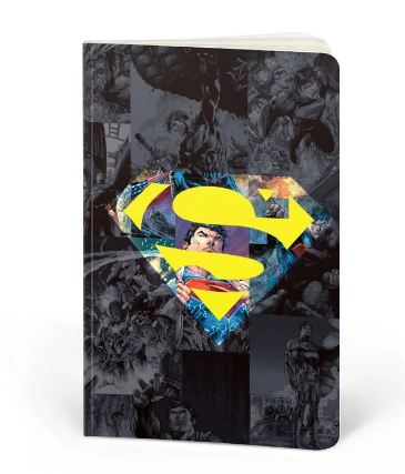Superman: Strength. Justice. Power.- DC Heroes Fan Printed Notebook
