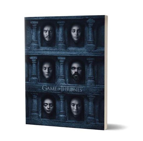 Hall Of Faces- Game Of Thrones Fan Printed Notebook