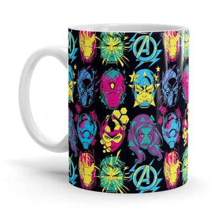 Pop Pattern- Marvel Mug