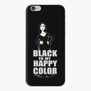 Black Is My Happy Color- Mobile Phone Case