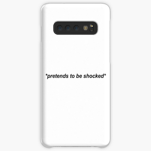Pretends To Be Shocked- Mobile Phone Case