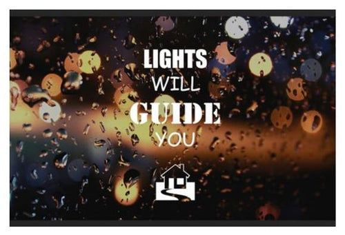 LIGHTS WILL GUIDE YOU HOME- Wall Art