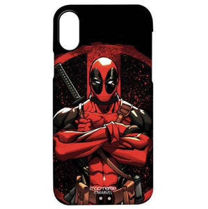 Deadpool Stance -Marvel Heroes Mobile Cover