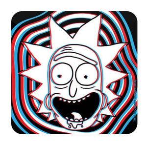 Glitch - Rick And Morty Coaster