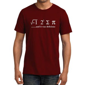 I Ate Some Pie - Mathematics Unisex Tshirt