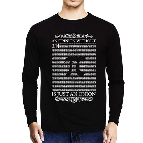 Opinion - Mathematics Unisex Tshirt