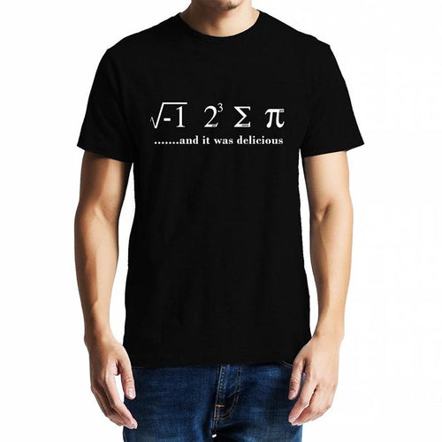 I Ate Some Pie- Mathematics Unisex Tshirt