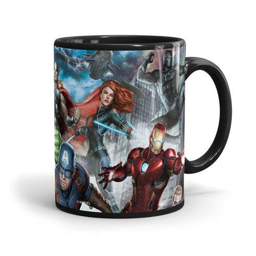 Avengers: The Team (Black)  Mug