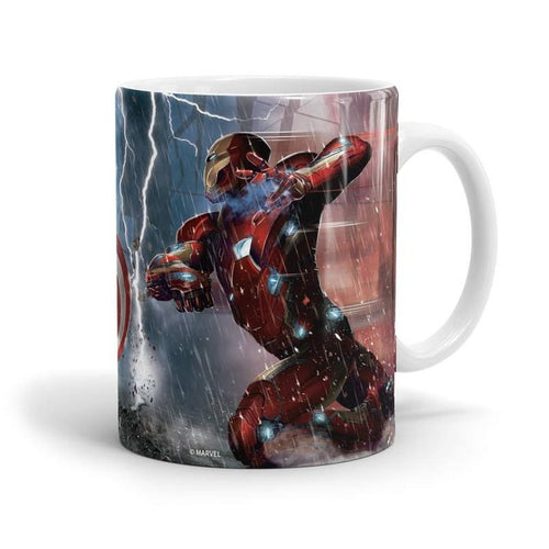 Captain America v/s Iron Man Mug