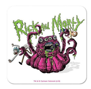 Four Eyed Monster - Rick And Morty Coaster