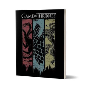 Sigil Banner- Game Of Thrones Fan Printed Notebook