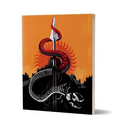 Beautiful Death: Red Viper and The Mountain  - Game Of Thrones Fan Printed Notebook