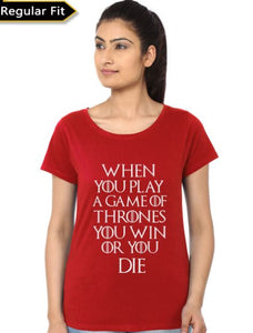 Game Of Thrones - Game of Thrones Women Fan Tshirt