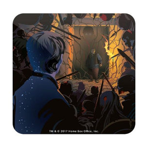 Hold the Door: Beautiful Death - Game of Thrones Fan Printed Coaster