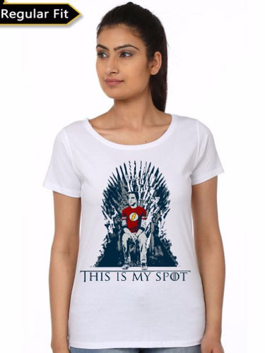 Game Of Sheldon - Game of Thrones Women Fan Tshirt
