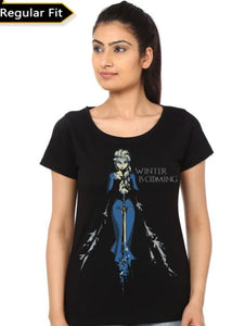 Elsa Game of Throne- Game of Thrones Women Fan Tshirt
