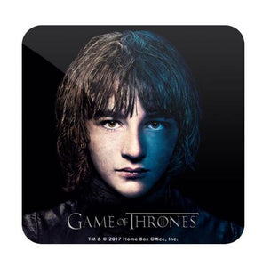 Bran Stark- Game of Thrones Fan Printed Coaster