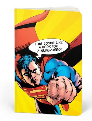 Superman: Book For A Superhero- DC Heroes Fan Printed Notebook