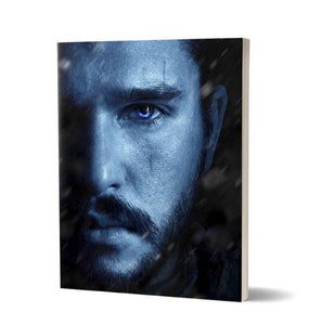 Jon Snow: Winter Is Here - Game Of Thrones Fan Printed Notebook