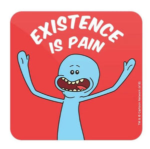 Mr. Meeseeks: Existence Is Pain - Rick And Morty Coaster